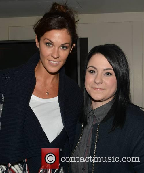 Glenda Gilson and Lucy Spraggan 2