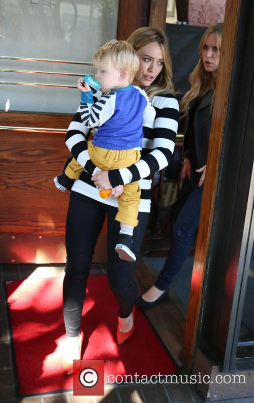 Hilary Duff and Luca Comrie 4
