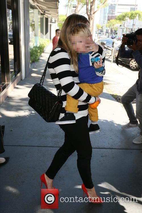 Hilary Duff and Luca Comrie 9