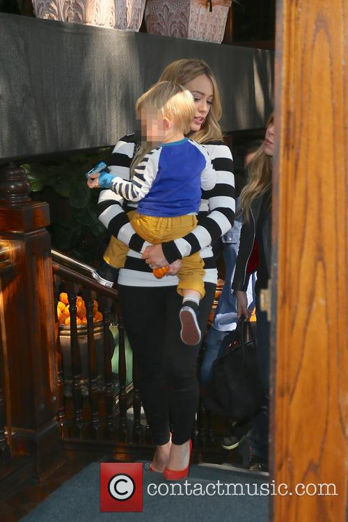 Hilary Duff and Luca Comrie 19