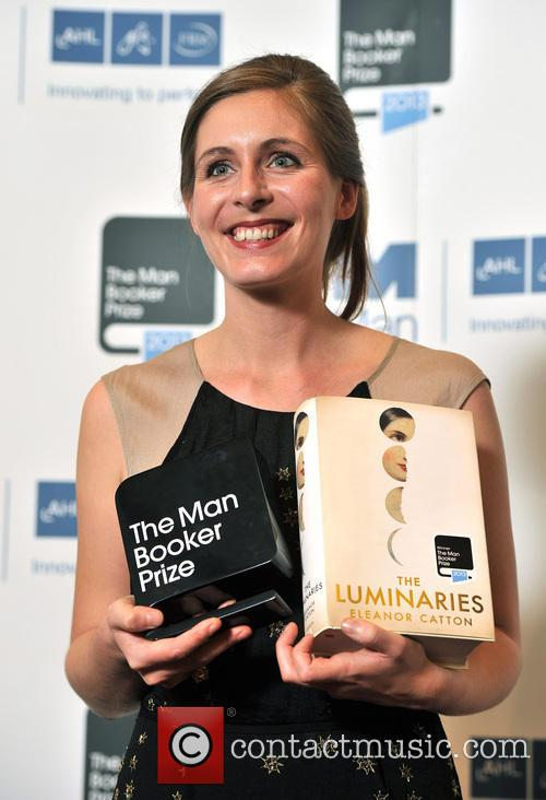 Booker Prize, Eleanor Catton and Author Of The Luminaries 1