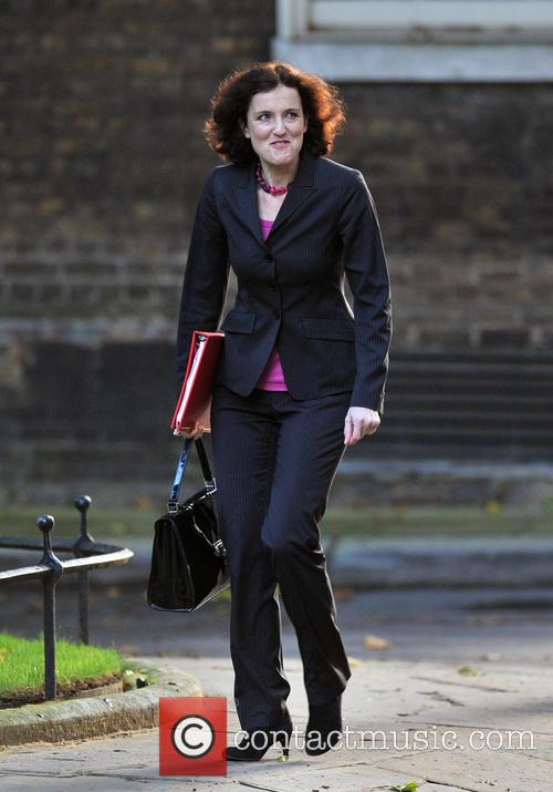 Northern Ireland Secretary Theresa Villiers 1
