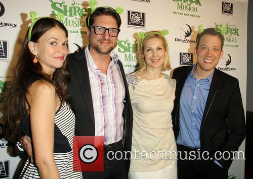 Sutton Foster, Christopher Sieber, Kelly Rutherford and John Tartaglia 2
