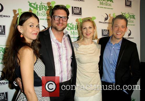Sutton Foster, Christopher Sieber, Kelly Rutherford and John Tartaglia 1