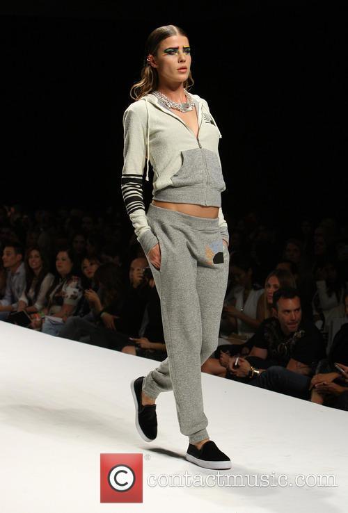 Model, LA Live Deck