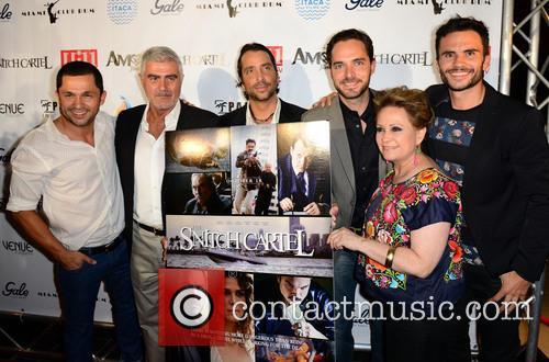 Andres Lopez, Saul Lisazo, Alejandro Moran, Manolo Cardona, Adriana Barraza and Juan Pablo Raba