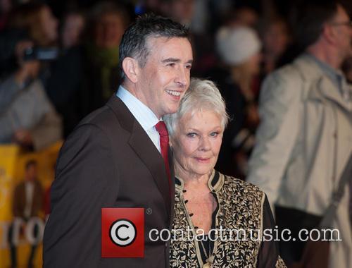 Steve Coogan and Dame Judi Dench 2