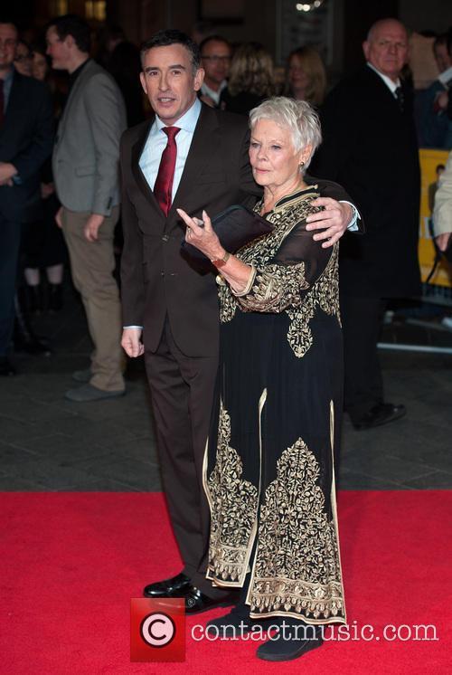 Steve Coogan and Dame Judi Dench 3