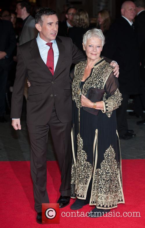 Steve Coogan and Dame Judi Dench 1