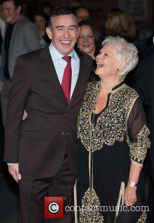 Steve Coogan and Dame Judi Dench 4