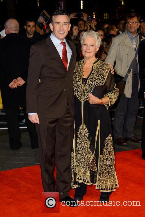Steve Coogan and Dame Judi Dench 9