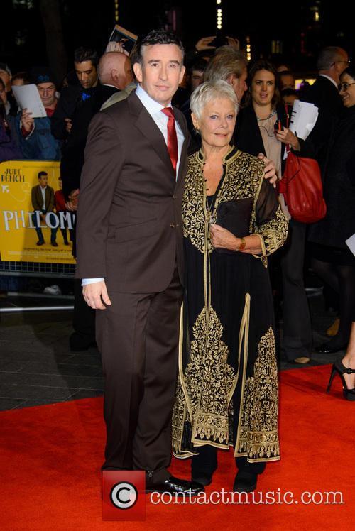 Steve Coogan and Dame Judi Dench 6
