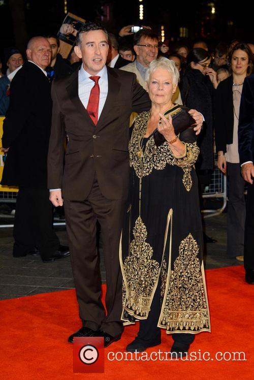 Steve Coogan and Dame Judi Dench 7