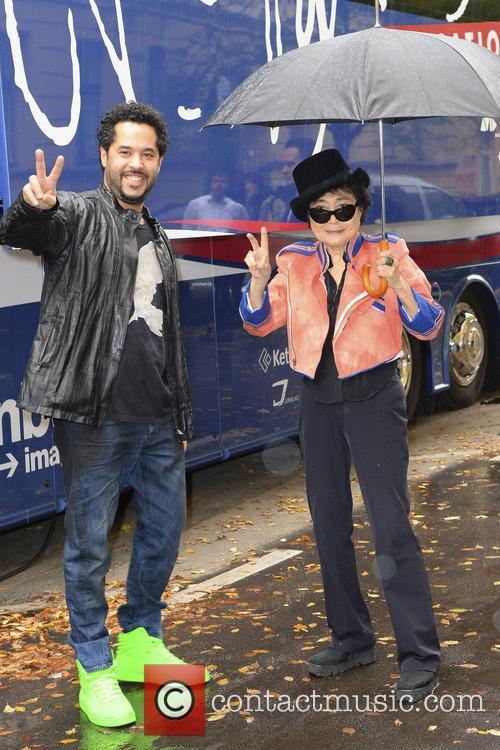 Adel Tawil and Yoko Ono