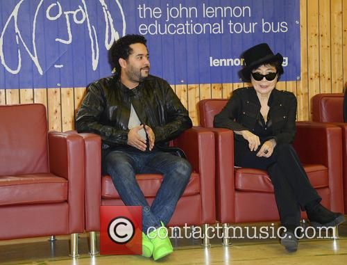 adel tawil yoko ono john lennon education bus 3909502