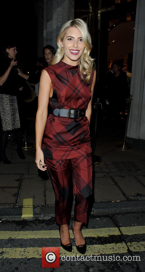 Mollie King Arriving At Gucci Store