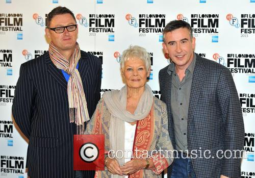 Jeff Pope, Dame Judi Dench and Steve Coogan 2