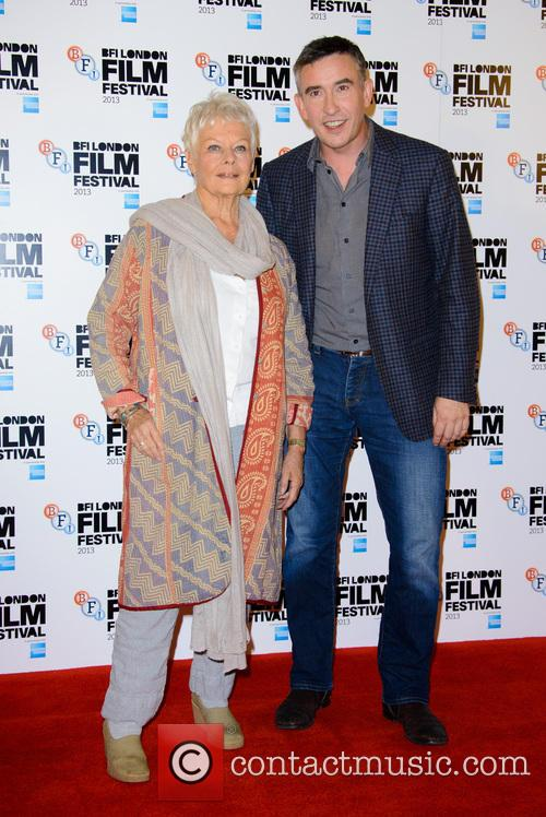 Dame Judi Dench and Steve Coogan 4