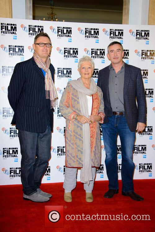 Jeff Pope, Dame Judi Dench and Steve Coogan 3