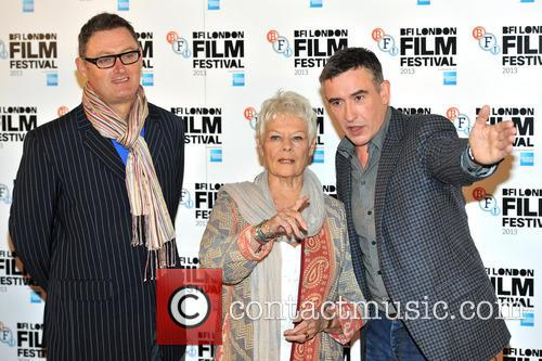Jeff Pope, Dame Judi Dench and Steve Coogan 4