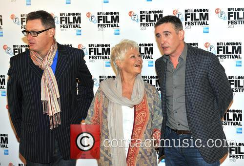 Jeff Pope, Dame Judi Dench and Steve Coogan 1