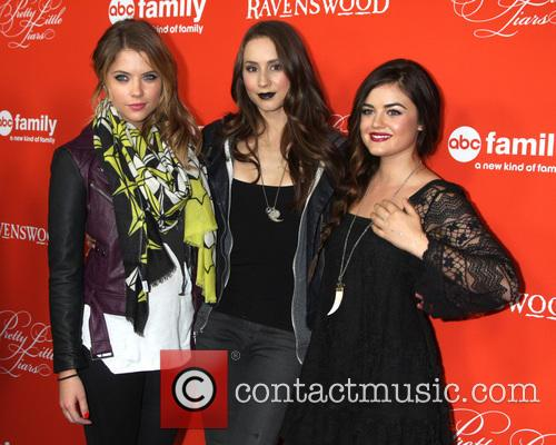 Ashley Benson, Troian Bellisario and Lucy Hale 3