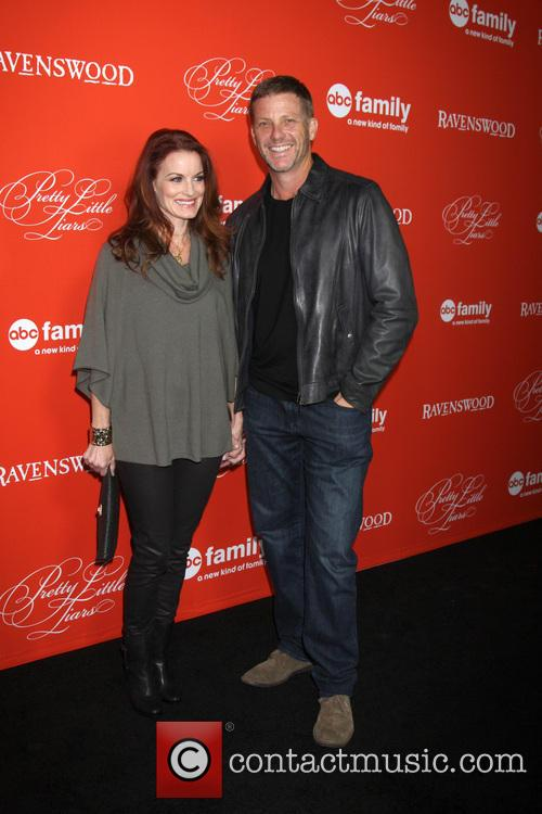 Laura Leighton, Doug Savant, Hollywood Forever Cemetary