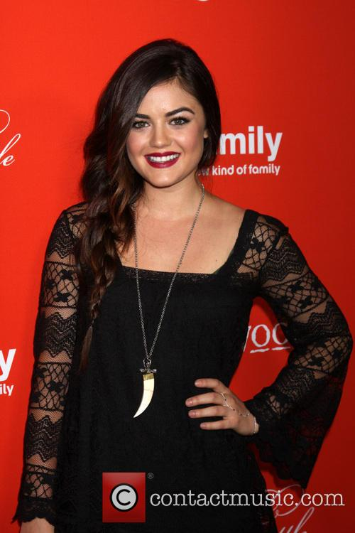 Lucy Hale, Pretty Little Liars Halloween Screening
