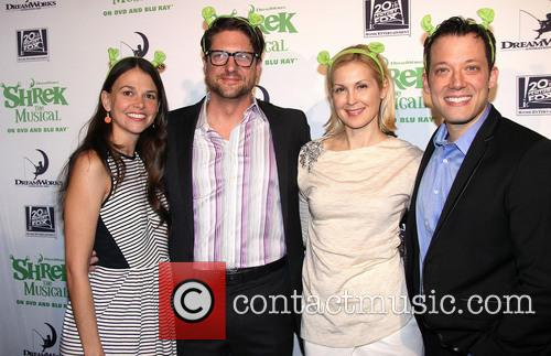 Sutton Foster, Christopher Sieber, Kelly Rutherford and John Tartaglia 5