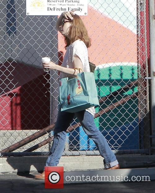 Amy Adams Running Errands