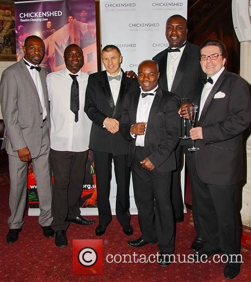Derek William, Wayne Alexander, James Coox-james, Jim Mcdonnell, F Francis Amporfo and Grant Miller (owner Of Daily Sport) 4