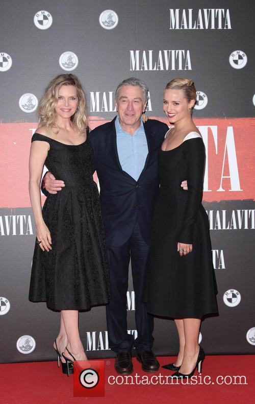 Michelle Pfeiffer, Robert De Niro and Dianne Agron 2