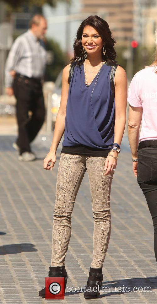 Melissa Rycroft out and about in a Dallas...