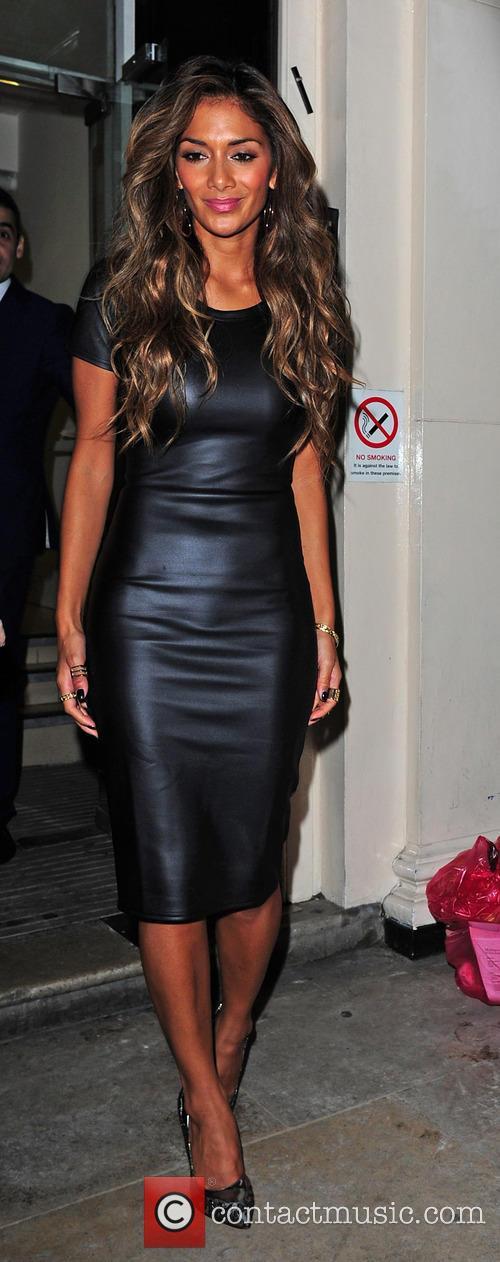 Nicole Scherzinger leaving the Arts Club in Mayfair