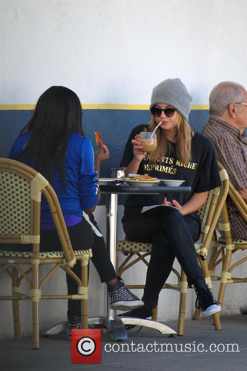 Ashley Benson At Lunch