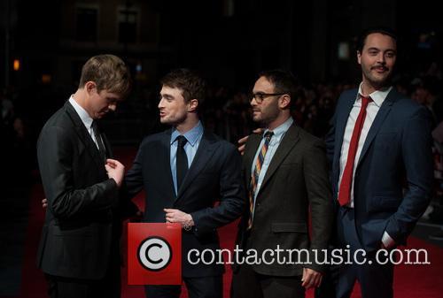 Dane DeHaan, Daniel Radcliffe, John Krokidas, Jack Huston, Odeon Leicester Square