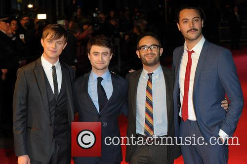 Dane DeHaan, Daniel Radcliffe, John Krokidas and Jack Huston 8