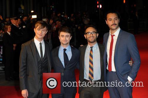 Dane DeHaan, Daniel Radcliffe, John Krokidas and Jack Huston 9