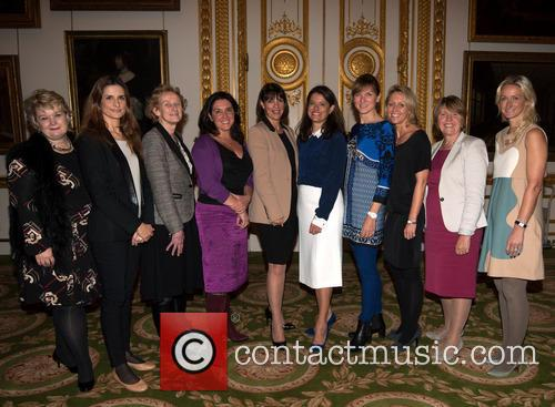 Thea Green, Livia Firth, Athena Donald, Bettany Hughes, Carolyn Mccall, Miriam Gonzalez Durantez, Fiona Bruce, Carrie Longton and Barbara Stocking 5