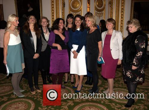 Fiona Bruce, Livia Firth, Athena Donald, Bettany Hughes, Carolyn Mccall, Miriam Gonzalez Durantez, Thea Green, Carrie Longton and Barbara Stocking 6