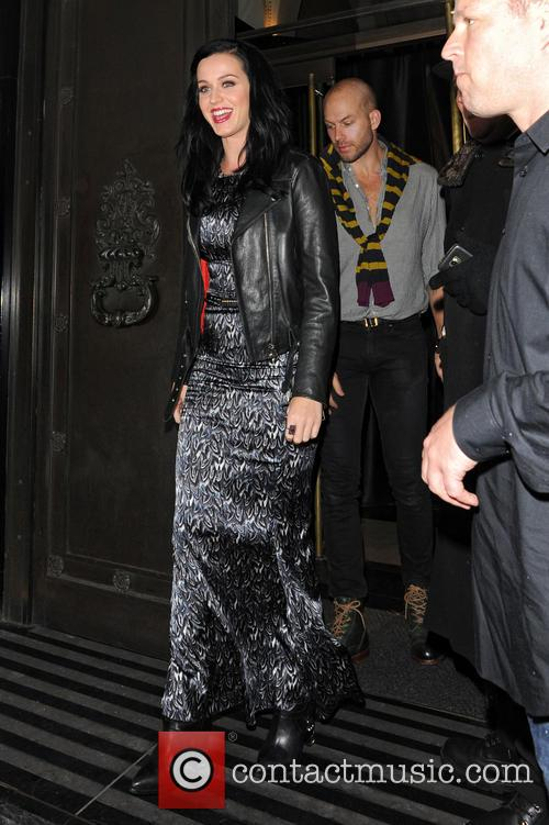 Katy Perry At The Wolseley