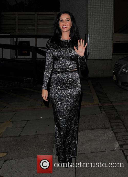 Katy Perry Leaves ITV Studios