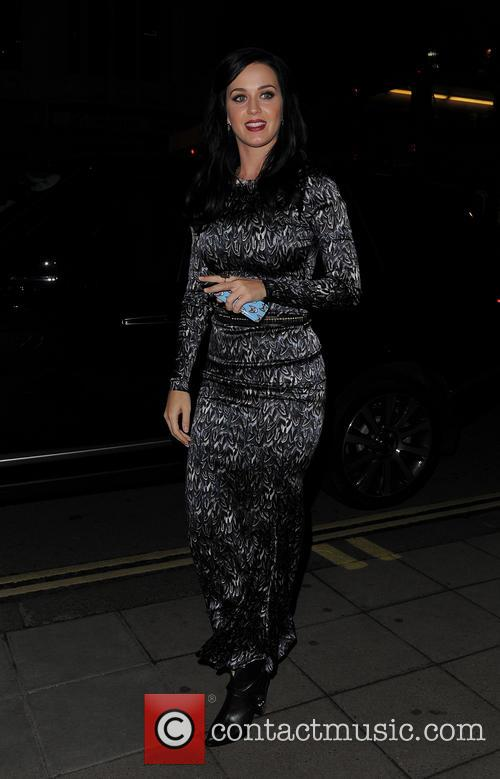 Katy Perry Leaves ITV Studios
