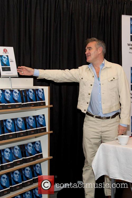 Morrissey book signing