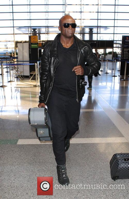 Seal arriving at LAX airport