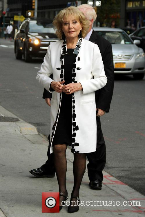 barbara walters late show with david letterman 3911222