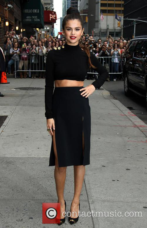 selena gomez late show with david letterman 3911205