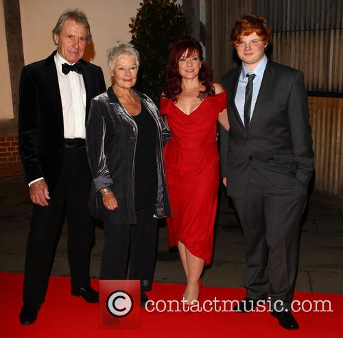 Dame Judi Dench, David Mills, Finty Williams and Sam Williams 3