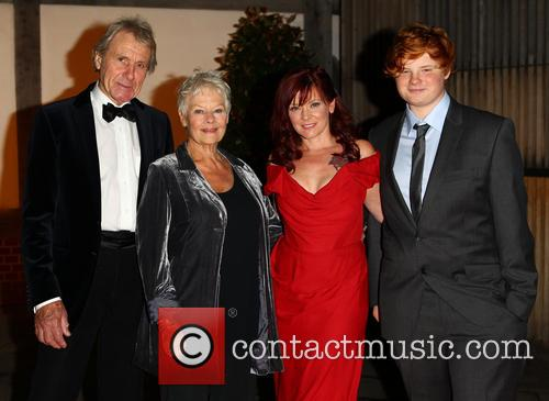 Dame Judi Dench, David Mills, Finty Williams and Sam Williams 7
