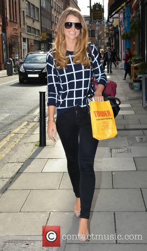 Vogue Williams McFadden spotted